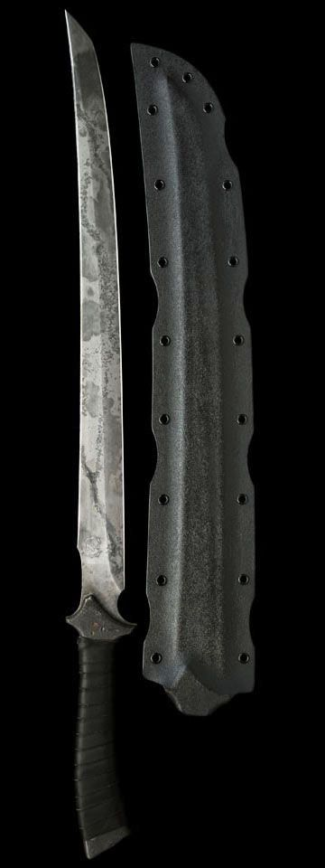 The Zakasushi Japanese Wakizashi Fixed Combat Blade Knife Sword by Zombie Tools Aegis Gears www.zombietools.n...
