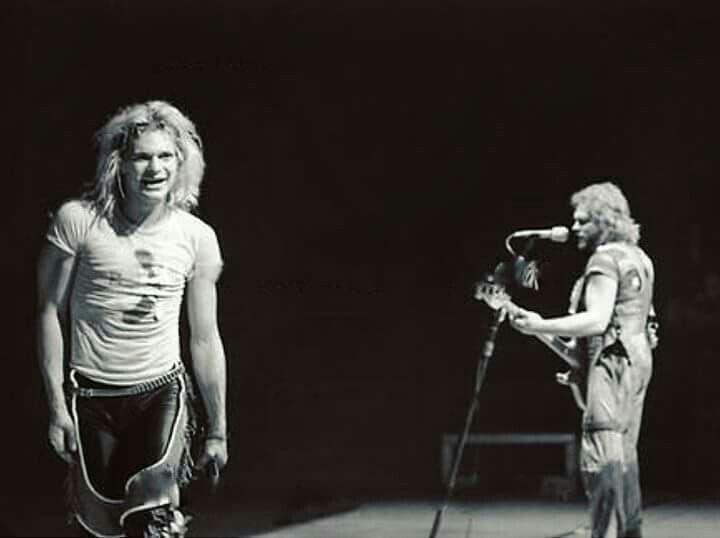 "DAVID LEE ROTH & MICHAEL ANTHONY At ""Rehearsals"" For The [FAIR WARNING/WE DON'T FXCK AROUND TOUR] c.1981! THE MIGHTY VAN HALEN Kicked Off This Tour At The [HALIFAX METRO CENTRE - HALIFAX NOVA SCOTIA, CANADA] May 12th 1981! #evh #eddievanhalen #alexvanhalen #davidleeroth #diamonddave #michaelanthony #vintage #classic #klassik #rock #music #history #1980s #1981 #fairwarning #touring #Rehearsals #RockHistory #vantastikhistory #vantastik #vanhalen #vanhalenhistory"
