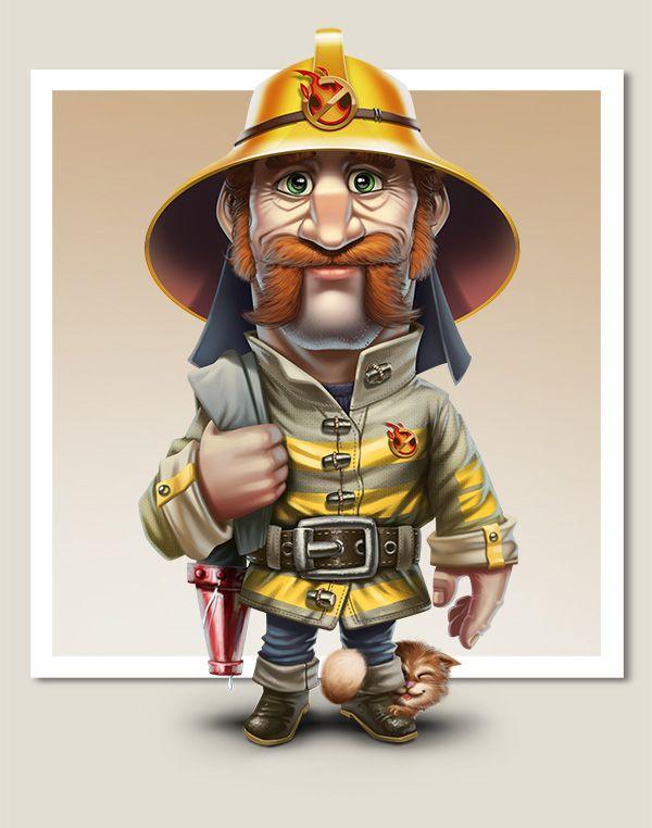 Утро пожарника картинки смешные