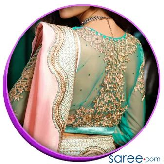 Image 1 Sheer Back with Embroidery01 - Trendy Saree Blouse Back Designs - saree.com