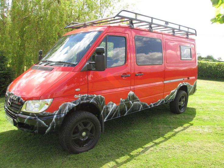 1000 ideas about mercedes sprinter 4x4 on pinterest. Black Bedroom Furniture Sets. Home Design Ideas
