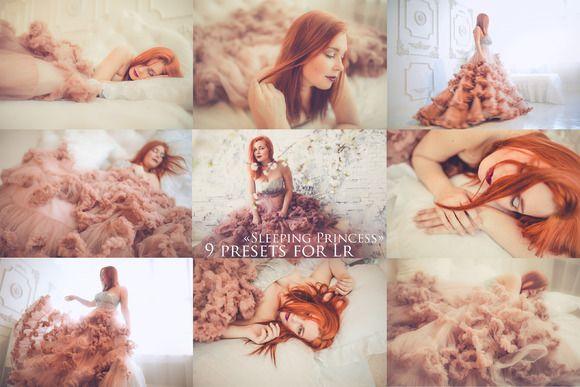 Sleeping Princess by Krisp_Krisp on @creativemarket