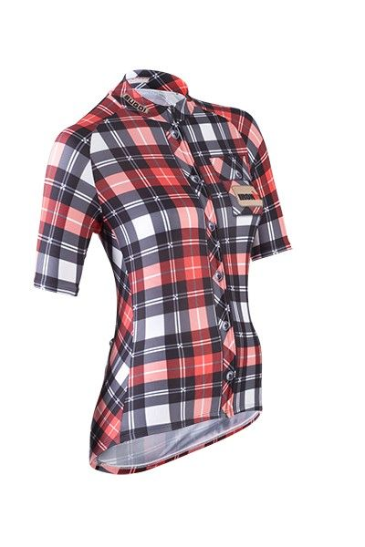 MUST HAVE THIS! So cute. IRONMAN Official Merchandise :: IRONMAN Women's Lumberjack Cycling Jersey