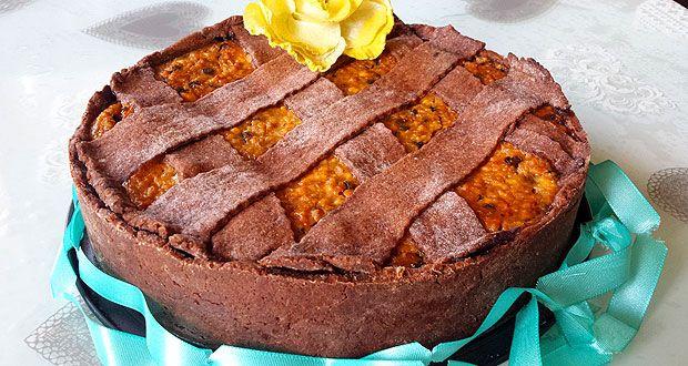 La mia versione della famosissima e buonissima Pastiera napoletana, la mia Pastiera al cioccolato. Un classico delle feste di Pasqua