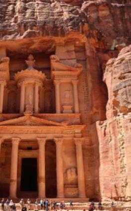 La belle Petra en Jordanie <3 Bucketlist = check!