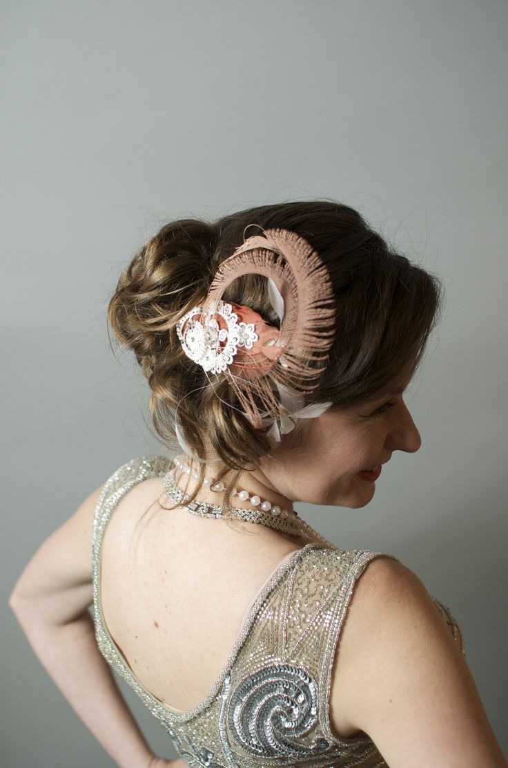 Laura, updo for Prohibition styled event.   #hair #updo #prohibition #greatgatsby #weddingstyle