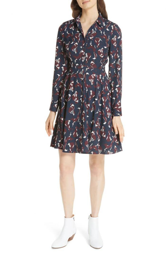 50 Stylish Fall Wedding Guest Dresses For 2020 Junebug Weddings Shirt Dress Fall Wedding Guest Dress College Outfits Comfy