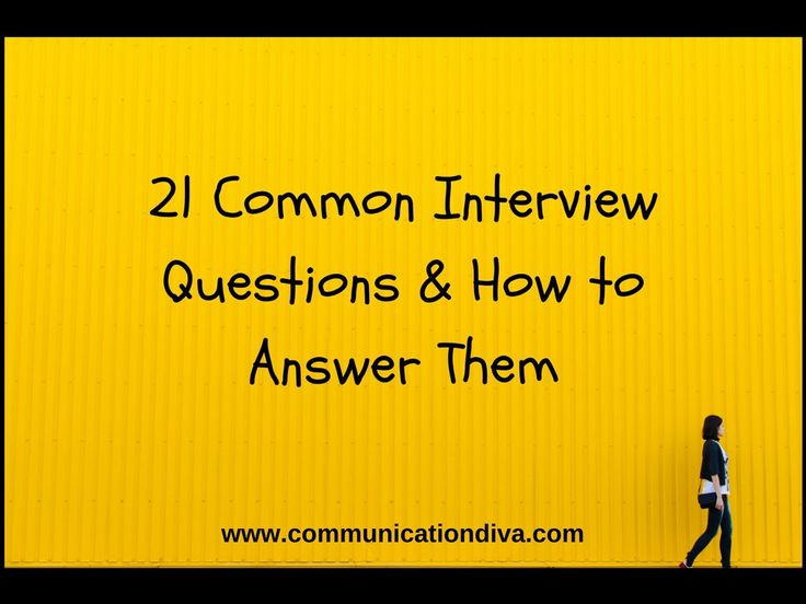 www.communicationdiva.com Join Jenn in finding out what the most common interview questions are, why they are asked and how best to answer them. Get ready for your next interview!