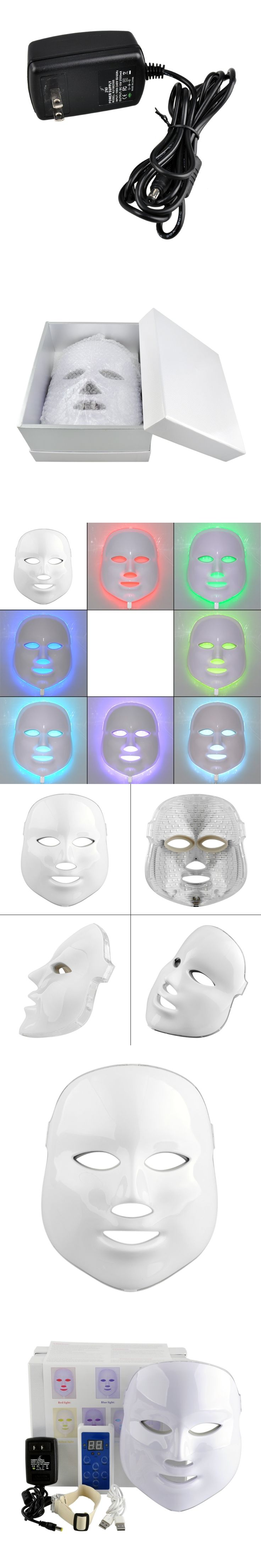 NEW Korean Photodynamic LED Facial Mask Home Use Beauty Instrument Anti acne Skin Rejuvenation LED Photodynamic Beauty Face Mask