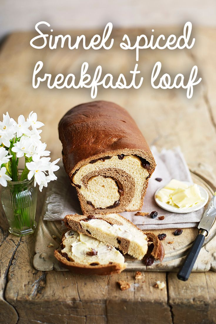 This beautiful bread loaf is spiced with cinnamon and mixed spices and has sultanas throughout. It's a tasty loaf when toasted with butter, similar to a hot cross bun. This bread recipe serves 12 and takes 1 hr and 55 mins to make.