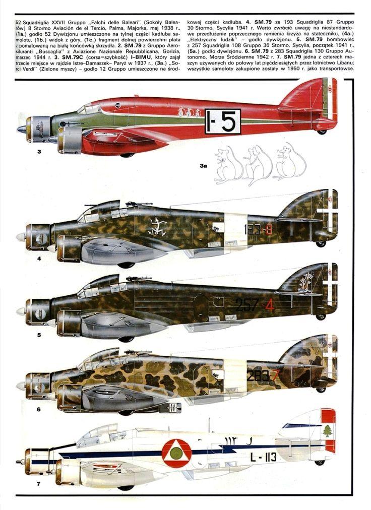 Savoia Marchetti SM 79 Sparviero - Regia Areonautica