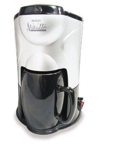 Electrodomestico - Mini Cafetera Goteo -  http://tienda.casuarios.com/mini-cafetera-goteo-15l-1-taza-ceramica-regalo-300w/