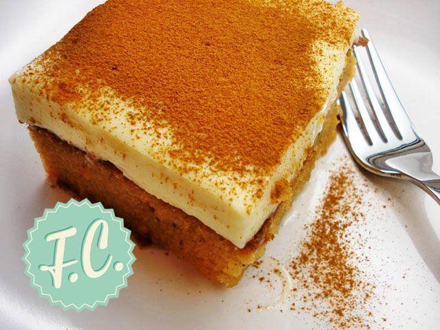 ΣυνταγήΠουτίγκα με Κρέμα Βανίλιας - Συνταγές μαγειρικής , συνταγές με γλυκά και εύκολες συνταγές από το Funky Cook