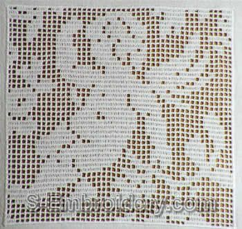 23 best filet crochet little angels images on pinterest filet filet crochet angel ccuart Images