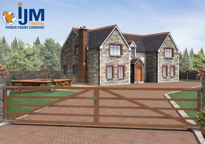 IJM Timber Frames #ijm #timberframe