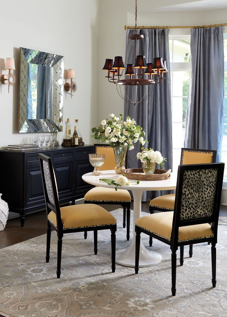 405 best dining room images on pinterest for Ballard designs dining room