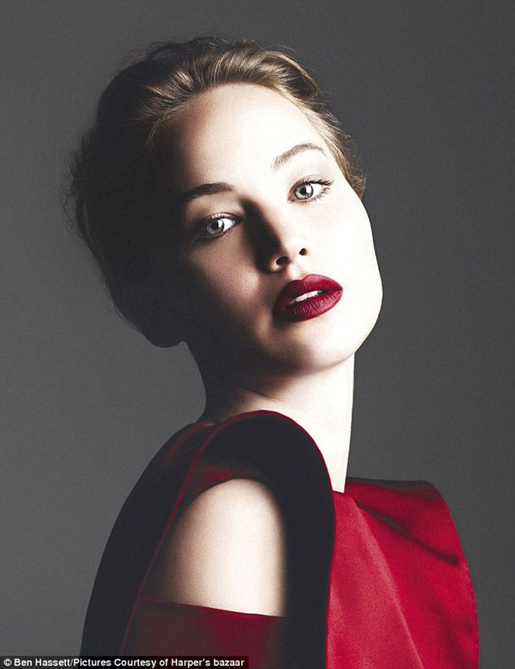 Jennifer Lawrence for Harper's Bazaar