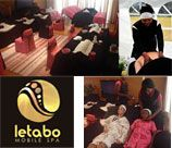 Letabo Mobile Spa - East Rand brings the magic to you with a variety of spa treatments that offer the perfect balance to an alternative and convenient experience. We bring all our own equipment and décor to set the perfect scene.