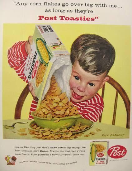 1958 Post Toasties Ad