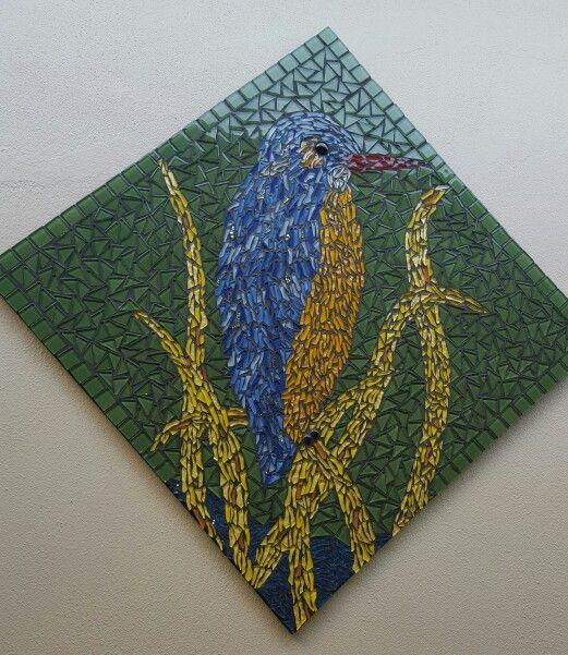Kingfisher mosaic