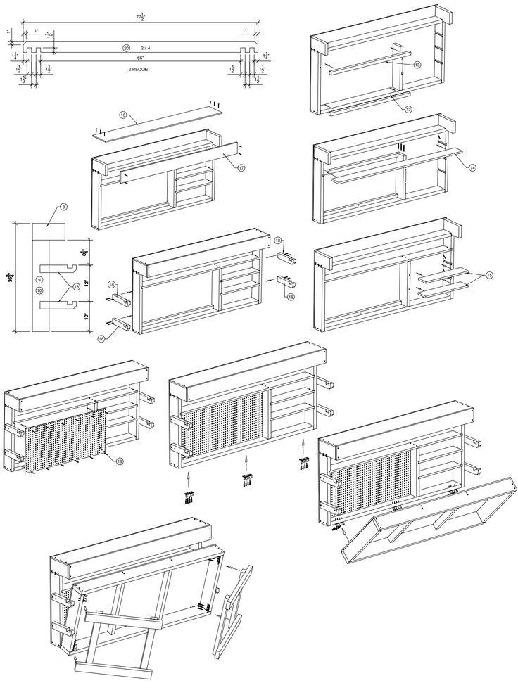 plan tabli 3 brico palette table palette et plane. Black Bedroom Furniture Sets. Home Design Ideas