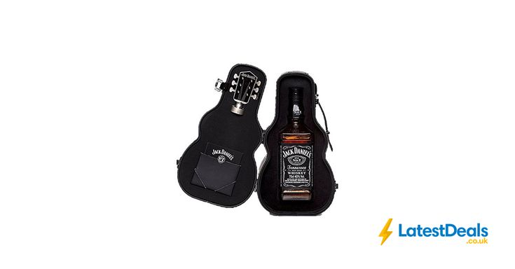 Jack Daniel's Old No.7 Guitar Case Whisky Gift Pack, 70 Cl Free Delivery, £31.33 at Amazon