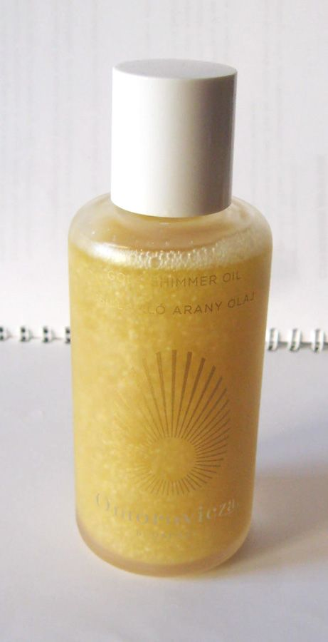 Omorovicza Gold Shimmer Oil. Review and Swatches | MakeUp4All