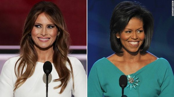 Melania Trump ¿plagió discurso de Michelle Obama?