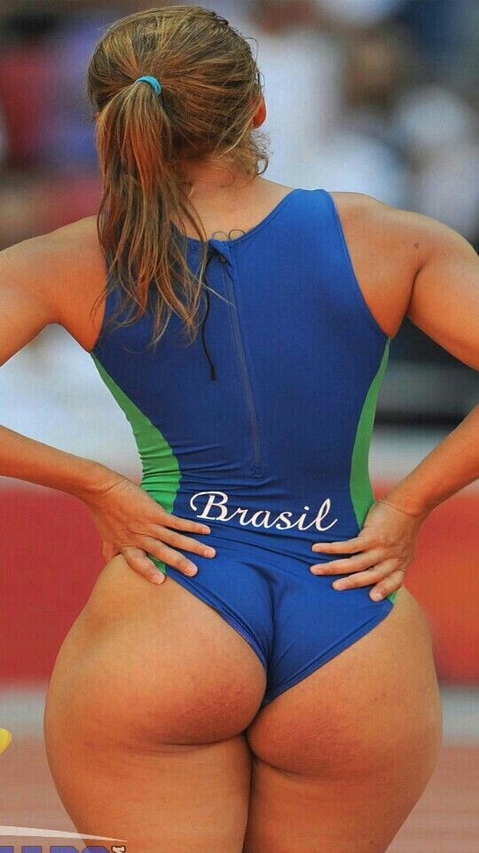 athlete female with big ass