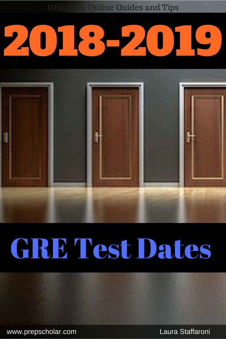 If you're planning to take the GRE in 2018 or 2019, you may want to start preparing your GRE schedule. Unfortunately, ETS only releases GRE test dates about a year in advance. However, we've done the hard work of scouring past test date patterns to predict future GRE testing dates.