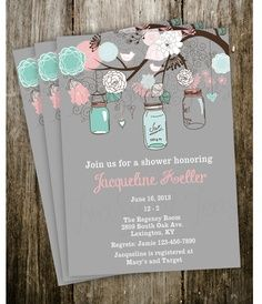 southern belle invitation | Southern Belle Bridal Shower