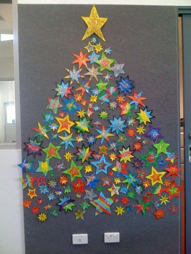 Kerstboom van sterren.