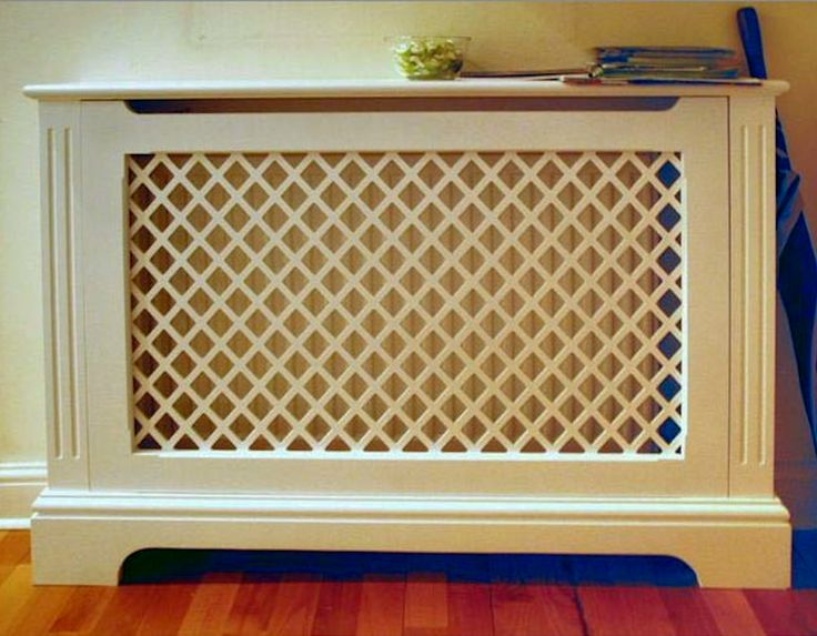 love this!  radiator cover shelves bespoke furniture