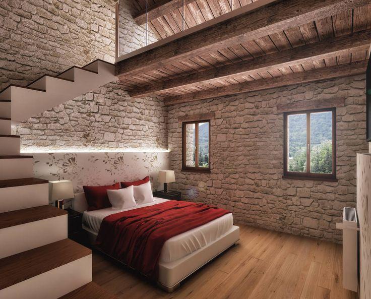 Camera da letto (di Render&Design | ONLINESTUDIO)