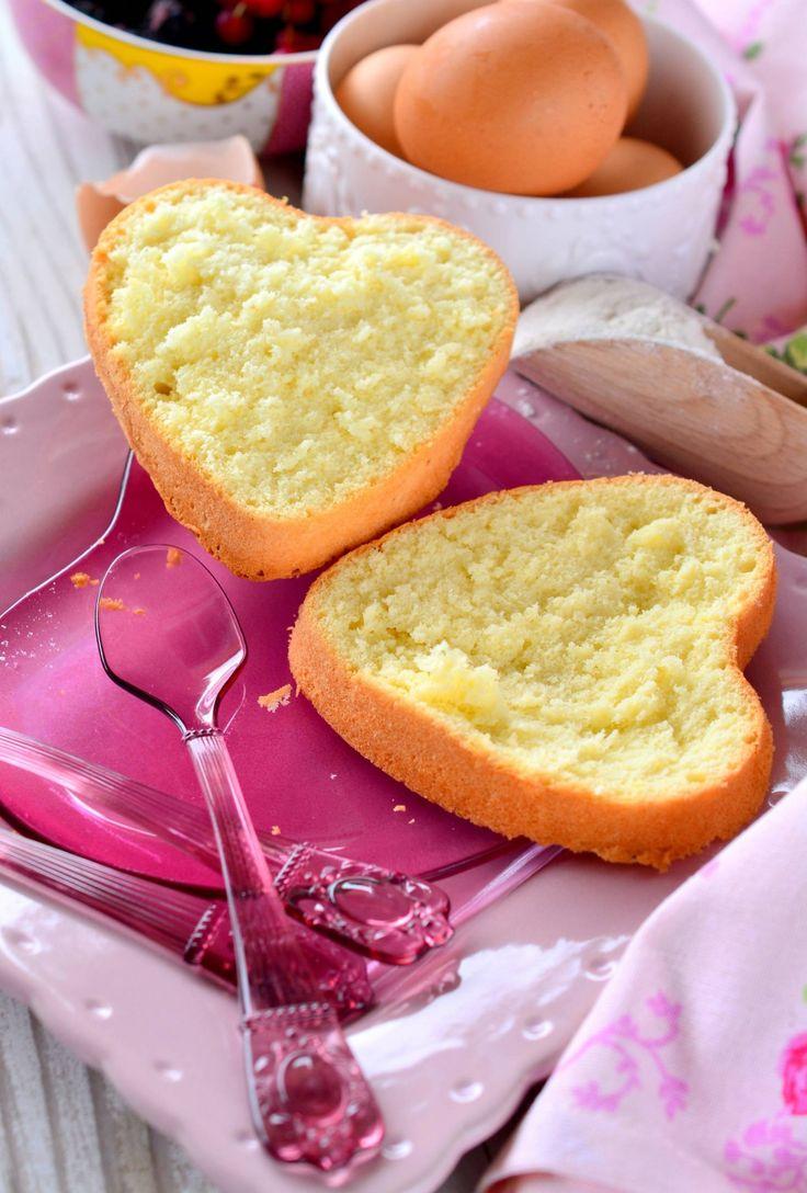 Pan di spagna leggero e gluten free