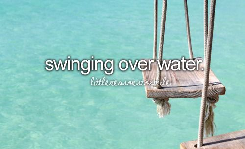 249 best images about beaches in the bahamas for Swing over water