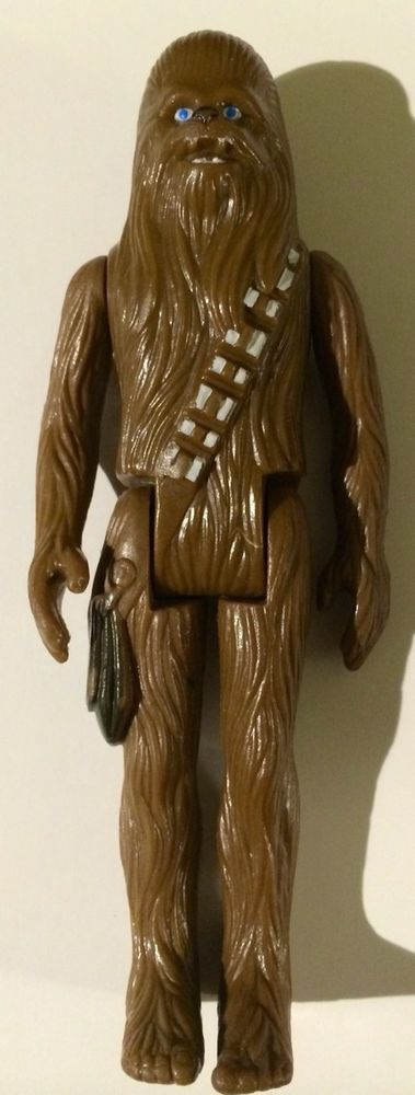 """Vintage - 1977 -  Star Wars - Chewbacca - 3.75"""" Loose Action Figure"""