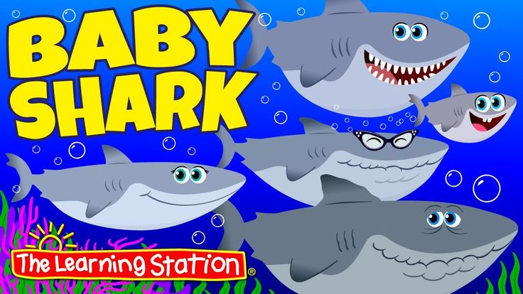 Baby Shark is a popular children's camp and animal song filled with silly, action and dance movements. This popular kid's camp song is a hit with campers, preschool and elementary age children. Enjoy this children's animal song, shark adventure with baby, momma, daddy, grandma and grandpa shark.