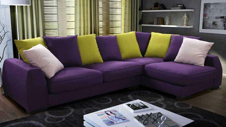 Угловой диван Палермо-М2 отличается своим дизайном. Он буквально сделан из мягких комфортабельных подушек.  Вы можете выбрать абсолютно любой цвет для обивочной ткани. В Вашем распоряжении более 800 вариантов обивки! Такой диван может стать достойным дополнением для любого интерьера.
