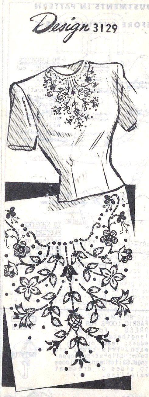 1940s Misses Blouse Vintage Sewing Pattern Dart door MissBettysAttic, $15.00