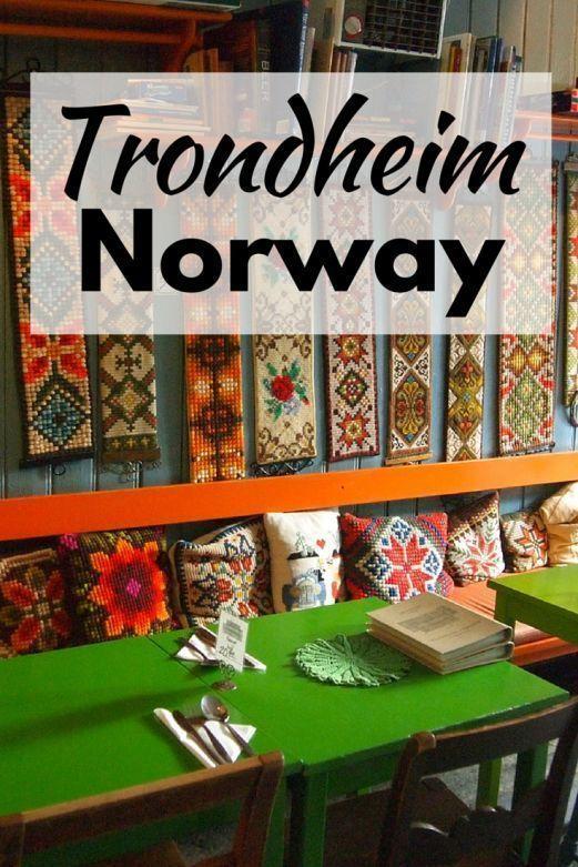 Trondheim, Norway. Considering going to Norway?