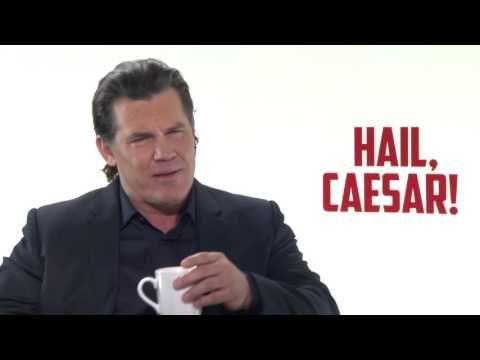 """ScreenSlam: Hail, Caesar!: Josh Brolin """"Eddie Mannix"""" Official Movie Interview"""