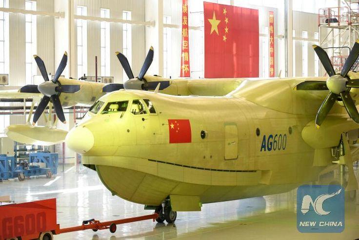 New Avic AG600 Chinese Seaplane