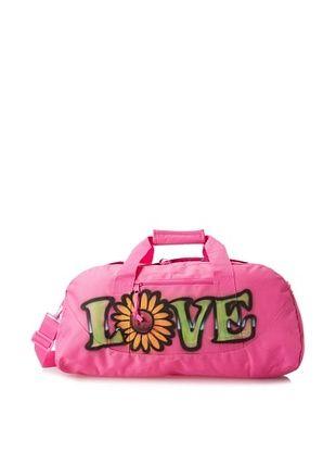 50% OFF Penelope Wildberry Kid's Love Duffle Bag, Hot Pink