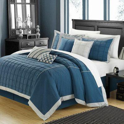 Chic Home Rhodes 8 Piece Comforter Set & Reviews | Wayfair