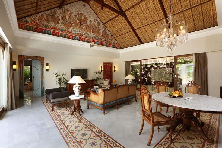 Living Room at Legong Villa