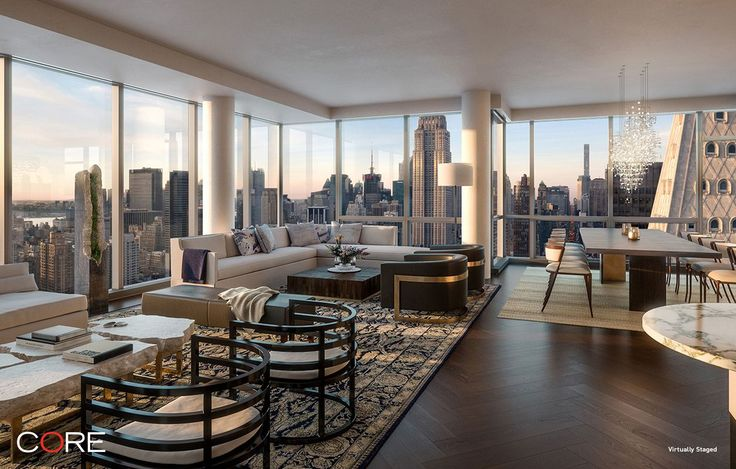 Live below Rupert Murdoch at One Madison for $27M - Curbed NYclockmenumore-arrow : The duplex spans the building's 55th and 56th floors, with predictably stunning views