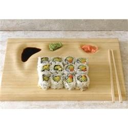 $45 Bamboo Sushi Tray.00