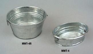 Oval Metal WashTub