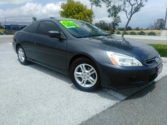 Coupe 2007 Honda Accord Ex Coupe With 2 Door In Rialto Ca 92376 Honda Accord Ex Honda Honda Accord